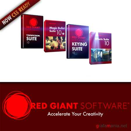 Red Giant Software Plugin Suites v10 Full CS5 Compatibility 10.0