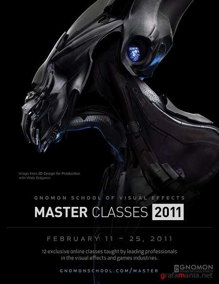 Gnomon School of Visual Effects Full Master Classes 04-2011