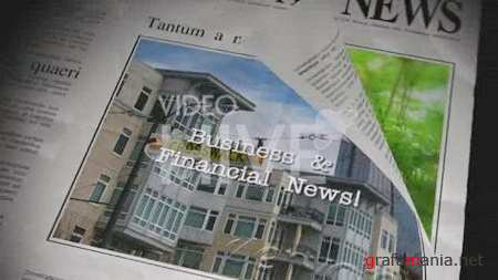 The Newspaper - Project for After Effects (Videohive.55645)
