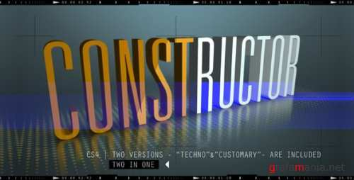 VideoHive - After Effects Project - CONSTRUCTOR