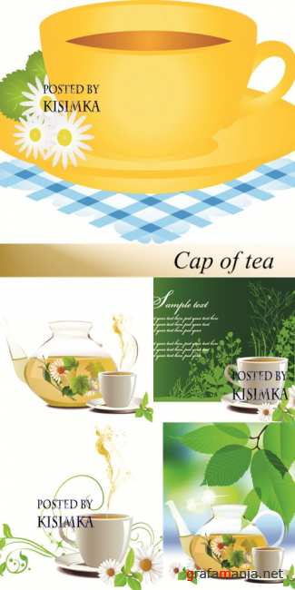 Stock: Cap of tea