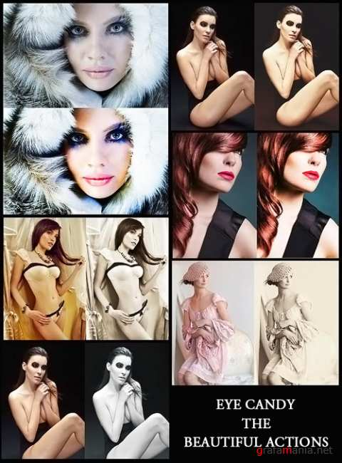 Eye candy beauty actions for photoshop