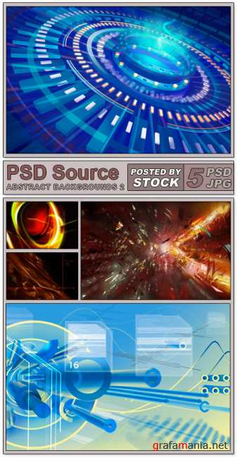 PSD Source - Abstract backgrounds 2