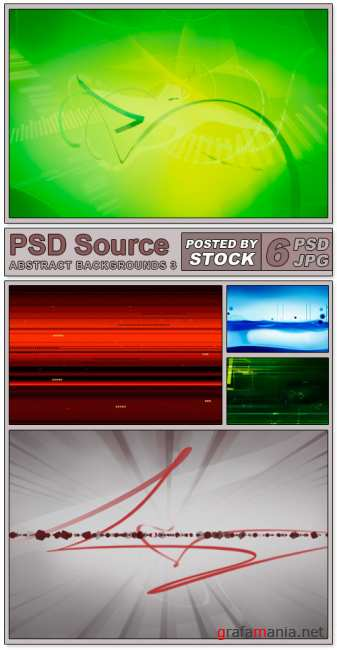 PSD Source - Abstract backgrounds (PART 3)