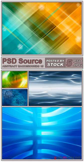 Layered PSD Files - Abstract backgrounds 15