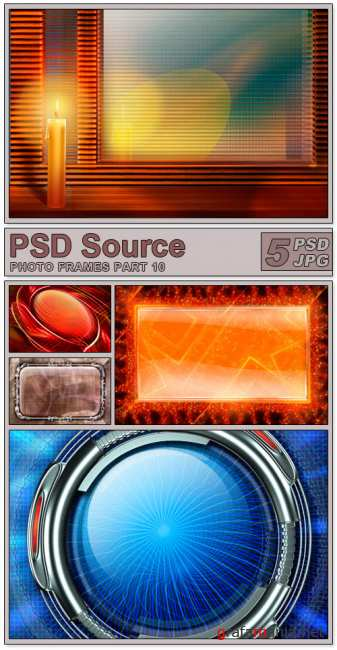 Layered PSD Files - Photo frames 10