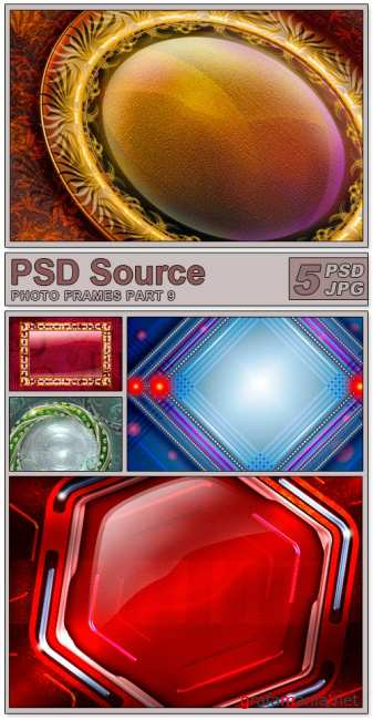 Layered PSD Files - Photo frames 9