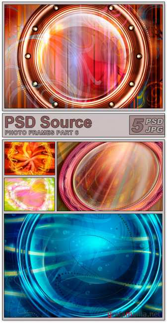 Layered PSD Files - Photo frames 6