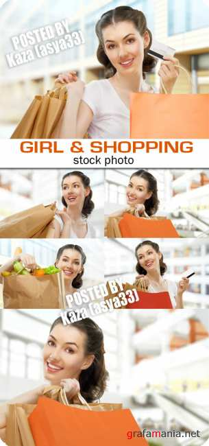 Girl & shopping