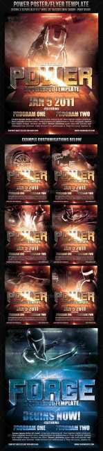 Power Poster/Flyer Template - GraphicRiver