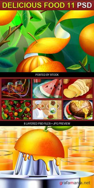 PSD Source - Delicious food 11