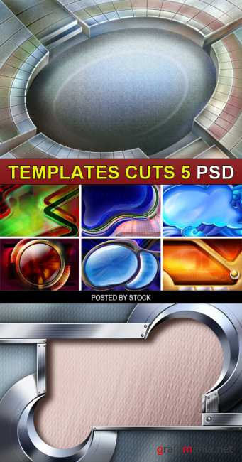 PSD Source - Templates cuts 5