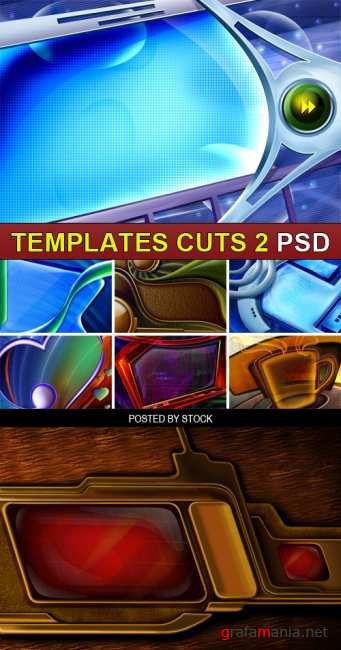 PSD Source - Templates cuts 2