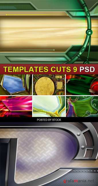 PSD Source - Templates cuts 9