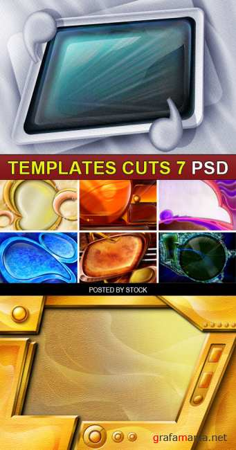 PSD Source - Templates cuts 7
