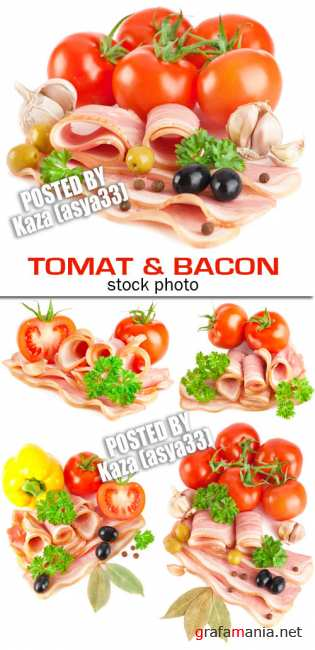 Tomat & bacon