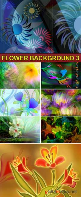 PSD Source - Flower background 3
