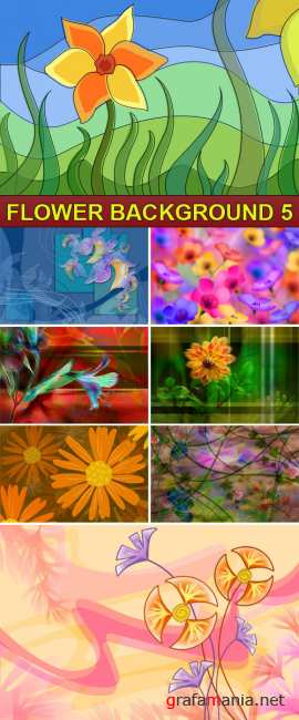 PSD Source - Flower background 5