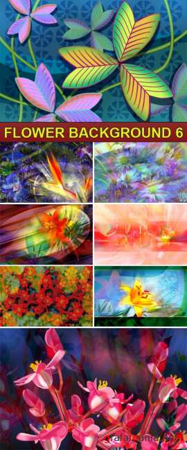PSD Source - Flower background 6