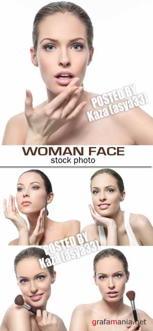 Woman face 5