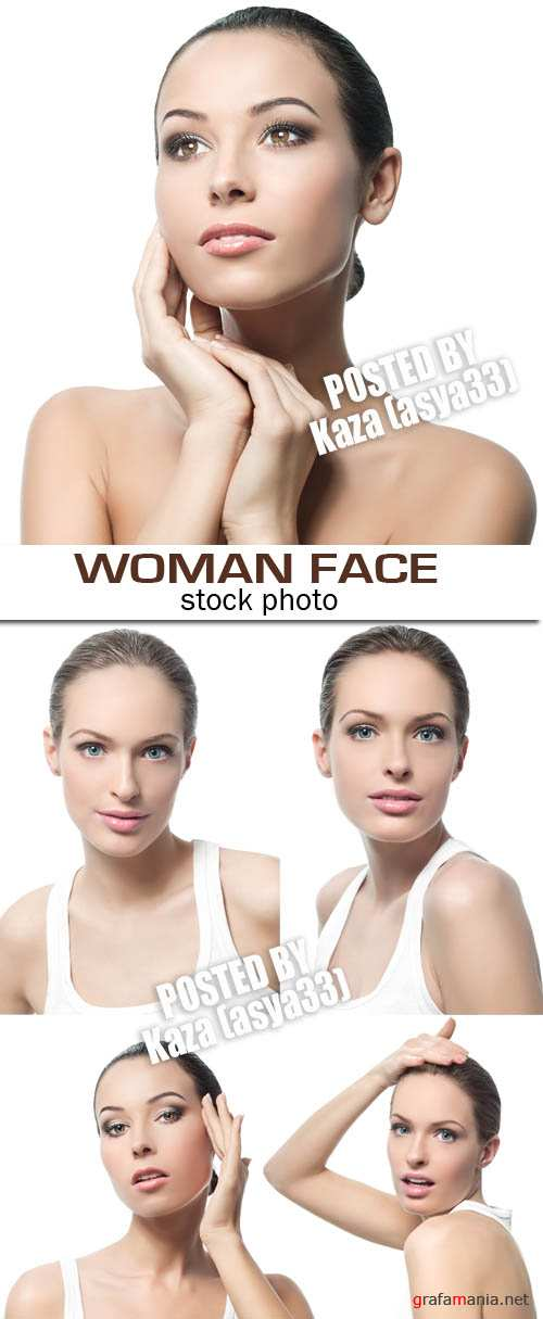 Woman face 6