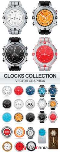 Clocks collection in vector