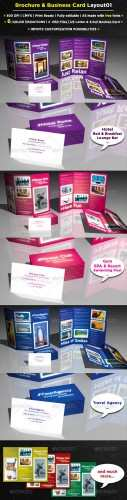 6 Pages Brochure + Business Card - GraphicRiver