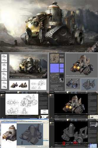 Autodesk Maya Vehicle for Games [2010, ENG]