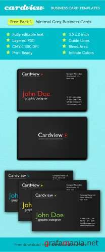 PSD Template - Business Card