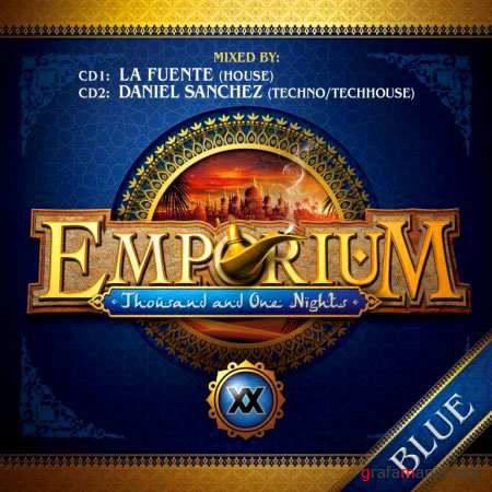 VA-Emporium Blue (mixed by La Fuente & Daniel Sanchez) (2011)