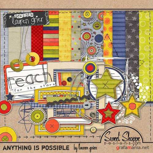 Scrap kit - Anything is Possible