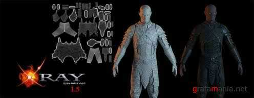 XRayUnwrap v1.5.3 For 3Ds MAX 2012 (32x+64x)