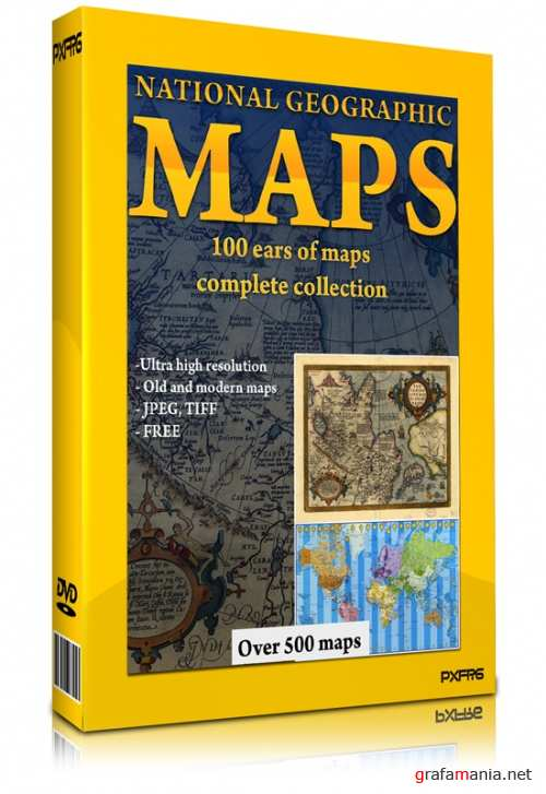 National Geographic - MAPS - all collection