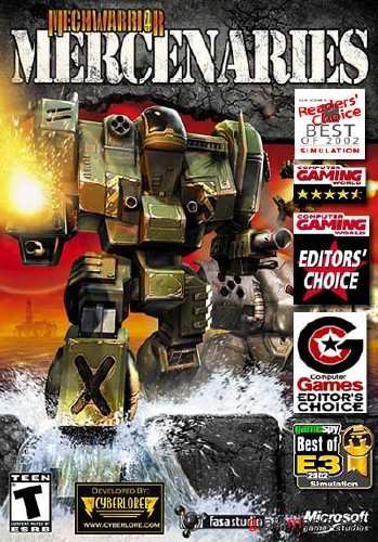 MechWarrior 4: Mercenaries v.3.1 (2010/RUS/ENG/Repak by R.G. Modern)