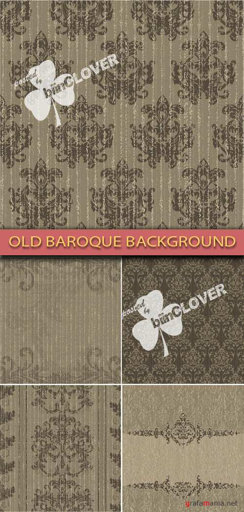 Old baroque background