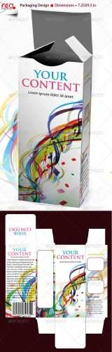 3D Box Template Design - GraphicRiver