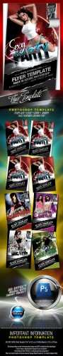 GraphicRiver - Sexy Party Flyer Template