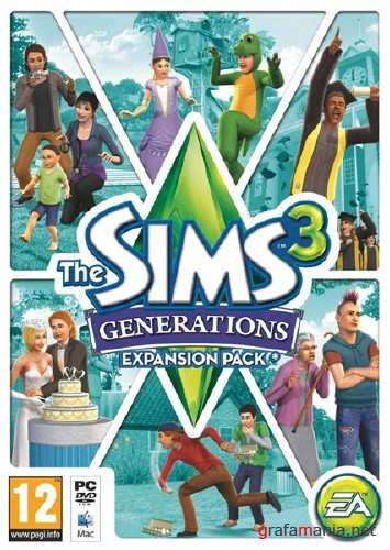 The Sims 3: Generations (2011/RUS/RePack by RG Kritka Packers)