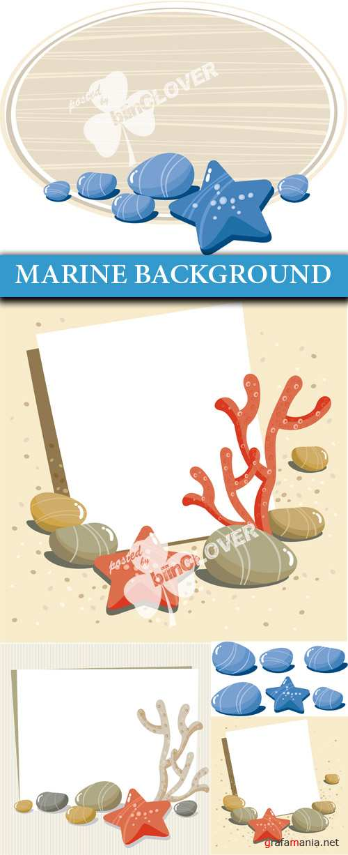 Marine background