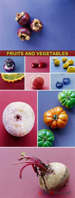 Stock Photo - Fruits and vegetables