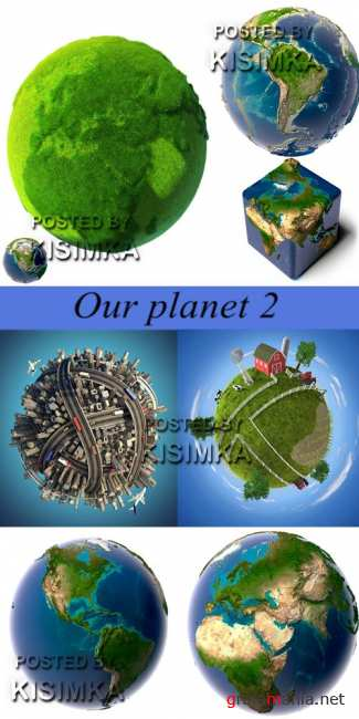 Stock Photo: Our planet 2