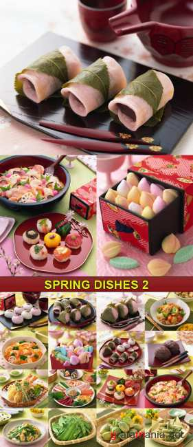 Stock Photo - Spring Dishes 2