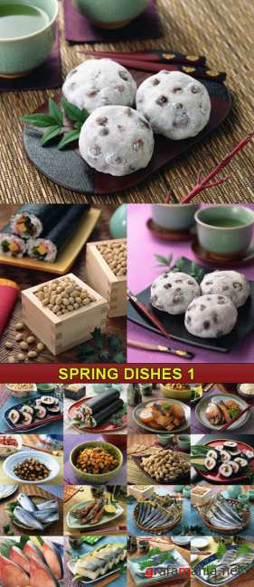 Stock Photo - Spring Dishes 1