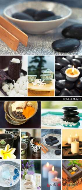 Stock Photo - Spa Elements