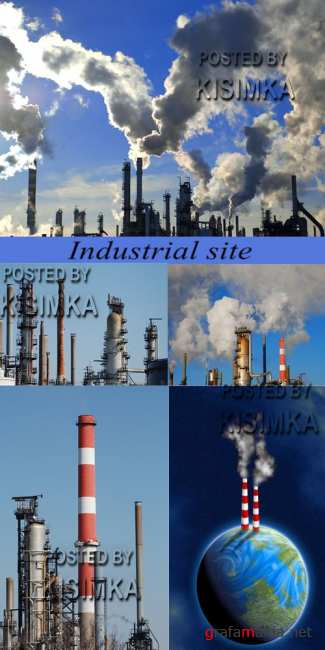 Stock Photo: Industrial site