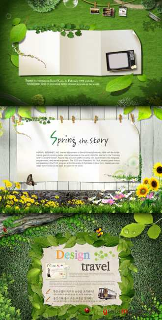 Sources - Spring story
