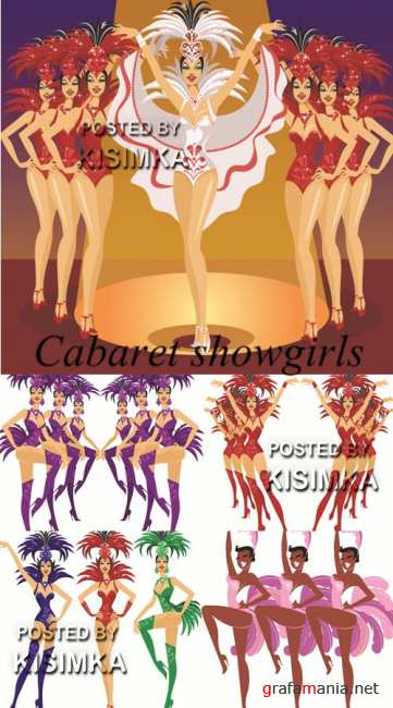 Stock: Cabaret showgirls