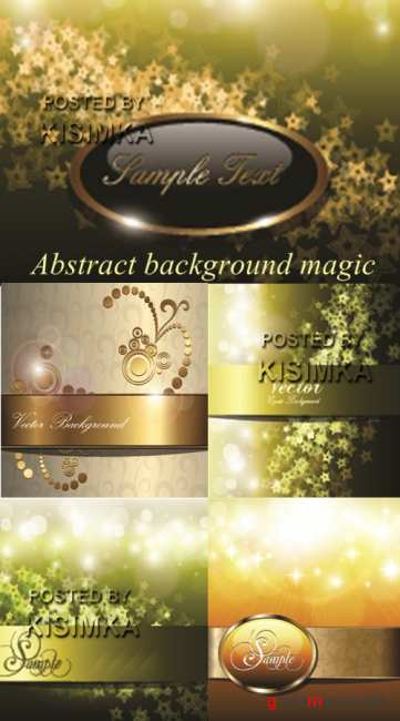 Stock: Abstract background magic