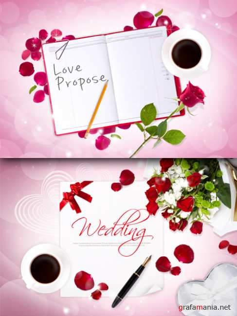Sources - Wedding invitation