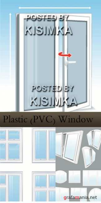 Stock: Plastic (PVC) Window